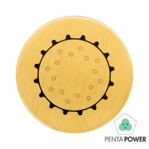 Penta Power Gold Tag